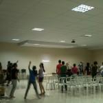retiro de Jovens realizado pela Unção e Poder dias -8,09e 10 de fevereiro 2013